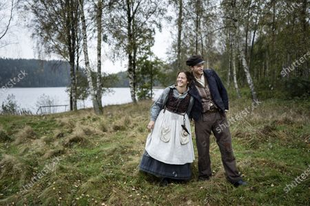 Editorial photo of 'The Emigrants' filming, Alingsas, Sweden - 20 Oct 2020