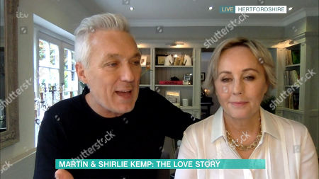 Stock Photo of Martin Kemp and Shirlie Holliman