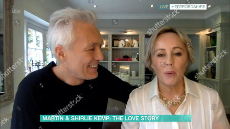 Stock Image of Martin Kemp and Shirlie Holliman