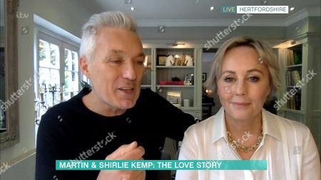 Stock Picture of Martin Kemp and Shirlie Holliman