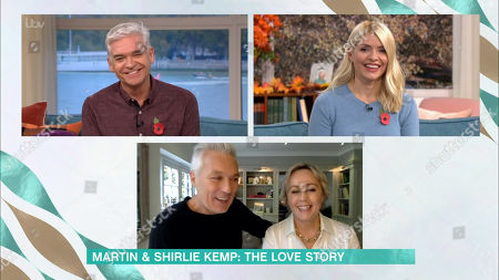 Phillip Schofield, Holly Willoughby, Martin Kemp and Shirlie Holliman