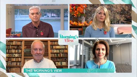Editorial picture of 'This Morning' TV Show, London, UK - 28 Oct 2020