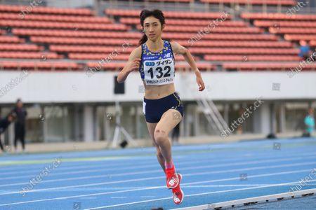 Nozomi Tanaka - Athletics :  Tokyo Athletics Middle Distance Challenge  Women's 800m  at Komazawa Olympic Park General Sports Ground in Tokyo, Japan.