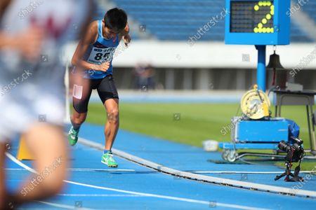 Yuki Kawauchi - Athletics : Tokyo Athletics Middle Distance Challenge Men's 800m at Komazawa Olympic Park General Sports Ground in Tokyo, Japan.