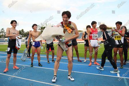 Jun Mitake - Athletics :  Tokyo Athletics Middle Distance Challenge  Men's 800m  at Komazawa Olympic Park General Sports Ground in Tokyo, Japan.