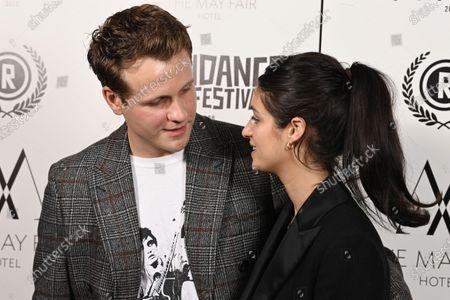 Josh Dylan and Anya Chalotra