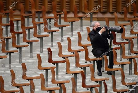 Pope Francis' weekly General Audience.