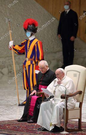 Pope Francis ' weekly General Audience.