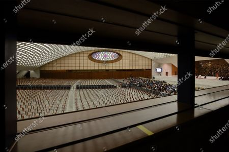 Editorial image of General Papal audience, Paul VI Hall, Vatican City, Italy - 28 Oct 2020