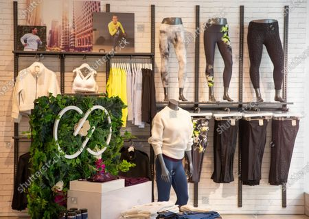 Stock Photo of DICK'S Sporting Goods launches first-ever pop-up shops for women's fitness brand CALIA by Carrie Underwood on in Santa Monica, Calif