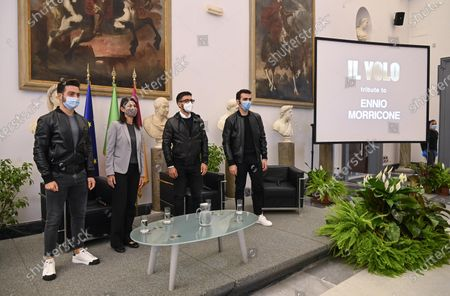 Editorial picture of Ennio Morricone Tribute presentation in Rome, Italy - 28 Oct 2020