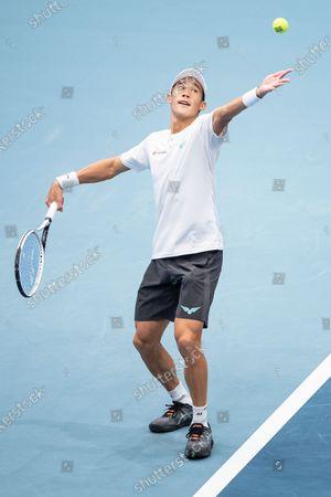 Editorial photo of Vienna Open tennis tournament, Austria - 28 Oct 2020
