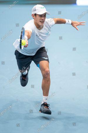 Editorial image of Vienna Open tennis tournament, Austria - 28 Oct 2020