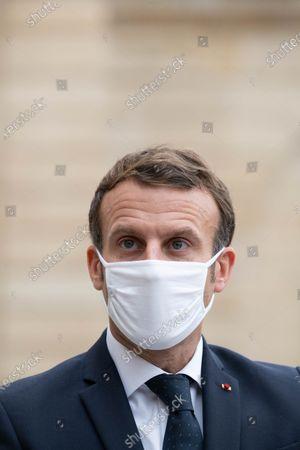 Stock Photo of Emmanuel Macron.