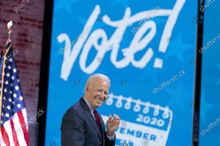 Editorial photo of Election 2020 Biden, Wilmington, United States - 28 Oct 2020