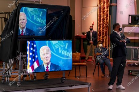 Editorial picture of Election 2020 Biden, Wilmington, United States - 28 Oct 2020