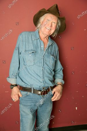 """Artist Billy Joe Shaver poses backstage following his concert """"Billy Joe Shaver presented by WMOT/Roots Radio"""" at City Winery Nashville in Nashville, Tenn. on . Shaver, who penned songs for Waylon Jennings, Willie Nelson and Bobby Bare, has died. His friend Connie Nelson said he died Wednesday in Texas following a stroke. He was 81"""