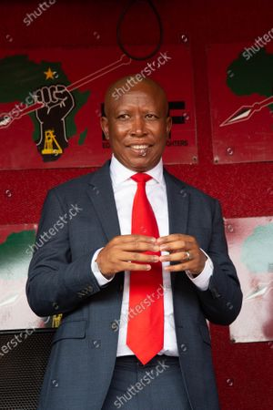 Editorial photo of Julius Malema appearing to court in Johannesburg, South Africa - 28 Oct 2020