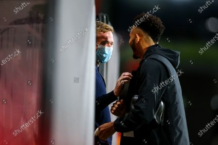 Editorial picture of Bournemouth v Bristol City, UK - 28 Oct 2020