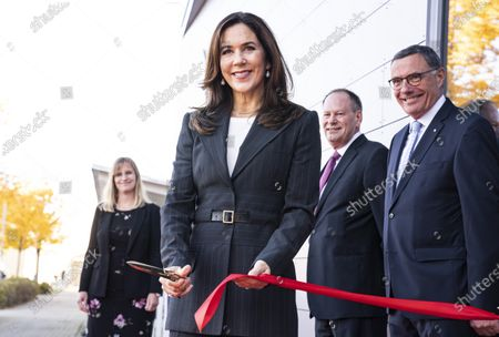 Editorial photo of Crown Princess Mary inaugurates Nation of Health visitor center in Odense, Denmark - 28 Oct 2020