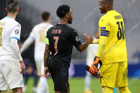 Editorial image of Marseille vs Manchester City, Champions League Group C Olympique, France - 27 Oct 2020