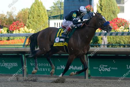 Editorial picture of Breeders Cup Pre Entries Horse Racing, Louisville, United States - 05 Sep 2020
