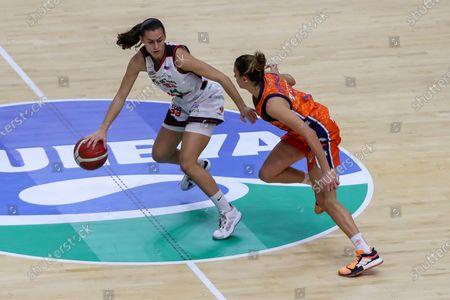 Editorial picture of Basket: Women - Valencia Basket v Ensino, Spain - 29 Nov 2019