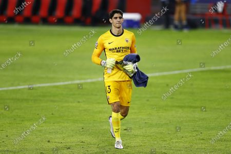 Stock Image of Yassine Bounou of Sevilla FC