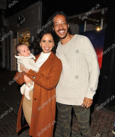 Shanie Ryan, Tony Sinclair and their baby
