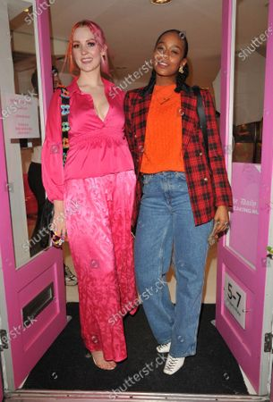 Stock Picture of Victoria Clay and Annaliese Dayes
