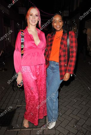 Stock Image of Victoria Clay and Annaliese Dayes