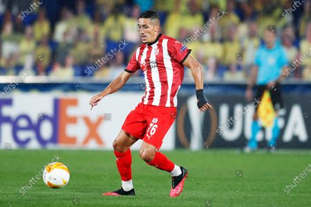 Faycal Fajr (Sivasspor) - Football / Soccer : UEFA Europa League group stage Group I match between Villarreal CF 5-3 Sivasspor at the Estadio de la Ceramica in Vila-Real, Spain.