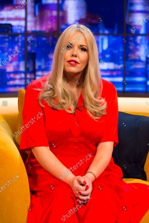 Editorial picture of 'The Jonathan Ross Show' TV show, Series 16, Episode 3, London, UK - 31 Oct 2020