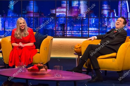 Editorial image of 'The Jonathan Ross Show' TV show, Series 16, Episode 3, London, UK - 31 Oct 2020