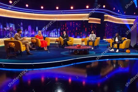 Editorial photo of 'The Jonathan Ross Show' TV show, Series 16, Episode 3, London, UK - 31 Oct 2020