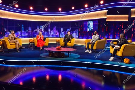 Stock Picture of Jack Whitehall, Roisin Conaty, Jonathan Ross, Craig David and KSI