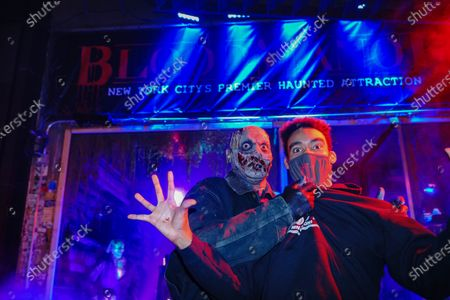 Editorial photo of Blood Manor Haunted Attraction in New York, US - 28 Oct 2020