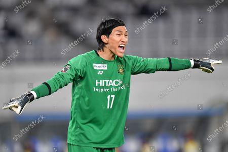 Kashiwa Reysol's Kim Seung Gyu during the 2020 J.LEAGUE Division 1 between FC Tokyo 1-3 Kashiwa Reysol at Ajinomoto Stadium in Tokyo, Japan.