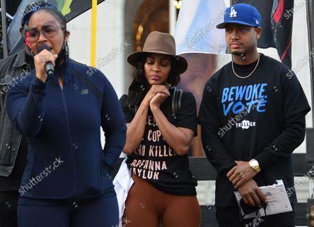 Meagan Good, Terrence J and Kendrick Sampson