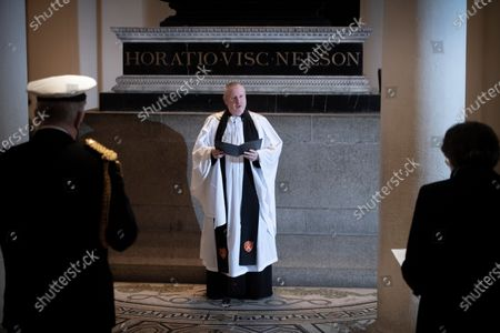 Editorial image of Nelson's tomb in the Crypt, London, UK - 21 Oct 2020