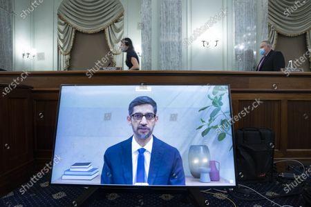 Editorial photo of U.S. Washington, D.C. Capitol Hearing Big Tech Ceo - 28 Oct 2020
