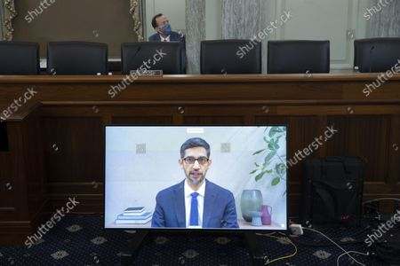 Editorial picture of U.S. Washington, D.C. Capitol Hearing Big Tech Ceo - 28 Oct 2020