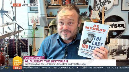 Editorial image of 'Good Morning Britain' TV Show, London, UK - 29 Oct 2020