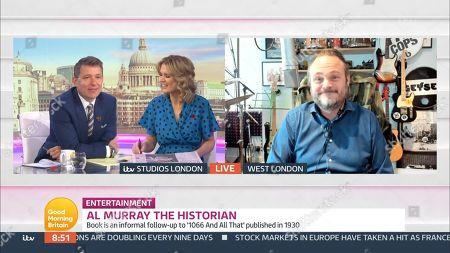Editorial photo of 'Good Morning Britain' TV Show, London, UK - 29 Oct 2020