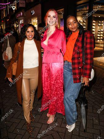 Shanie Ryan, Victoria Clay and Annaliese Dayes