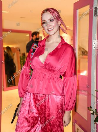 Editorial picture of The Sophie Tea's 'Send More Nudes' VIP private view, London, UK - 28 Oct 2020