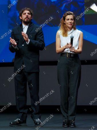 Damien Bonnard and Celine Sallette