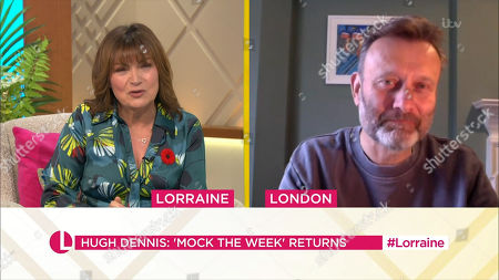 Editorial picture of 'Lorraine' TV Show, London, UK - 29 Oct 2020