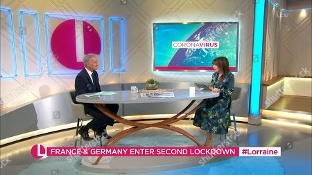 Editorial image of 'Lorraine' TV Show, London, UK - 29 Oct 2020