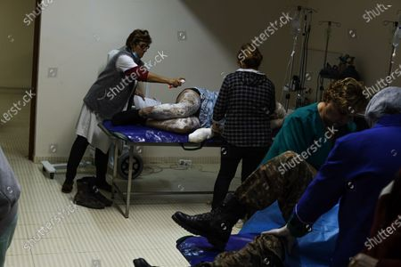 Editorial picture of Third ceasefire broken within minutes in Nagorno-Karabakh, Martakert - 26 Oct 2020